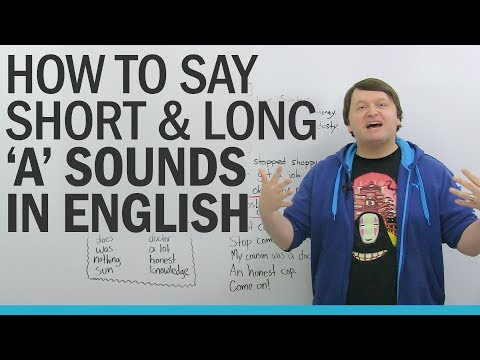 "American English Pronunciation Practice: Short and Long ""A"" Sounds"