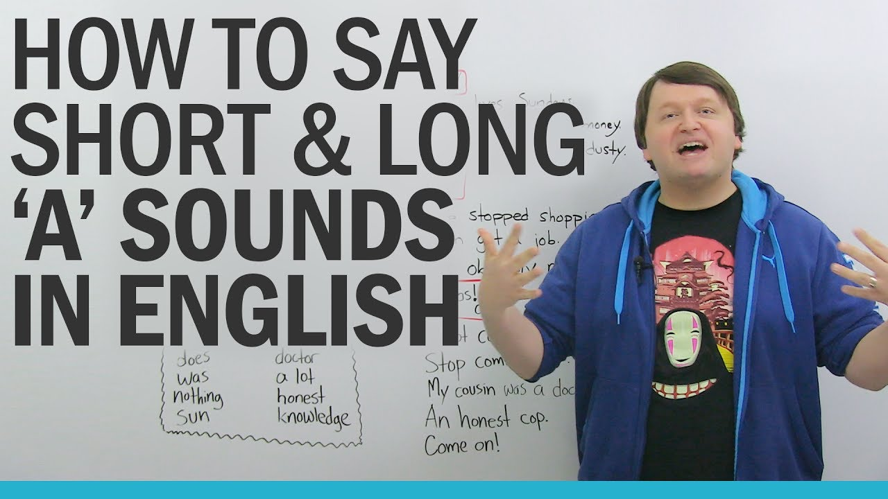 """American English Pronunciation Practice: Short and Long """"A"""" Sounds"""