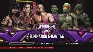 D Generation X vs The Big Green {King of Trios Day 4} WWE2K14