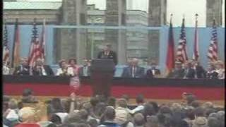 President Ronald Reagan - Address from the Berlin Wall