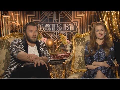 Joel Edgerton & Isla Fisher - The Great Gatsby Interview HD