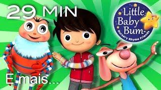Canções divertidas para crianças | Música infantil | LittleBabyBum!