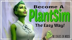 Sims 4: 🍃EASIEST WAY TO BECOME A PLANTSIM!🌿 | NO MODS or CHEATS!