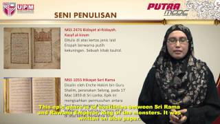 Putramooc | Bbm3302m - Topic 6 Malay Manuscripts (part 1/3)