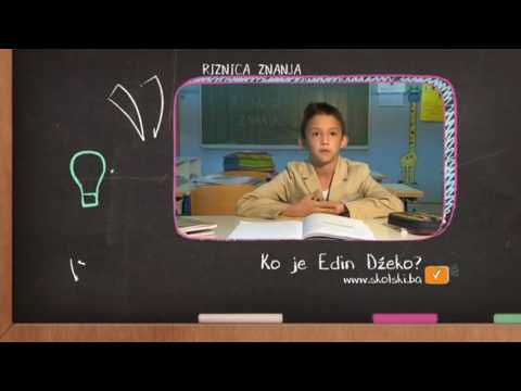 Riznica znanja: Ko je Edin Džeko?  (1. dio)