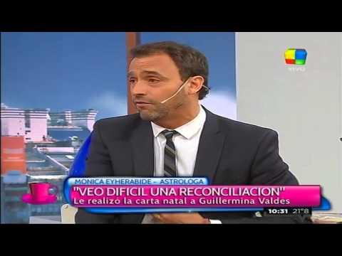 Tinelli y Valdés: señales de reconciliación