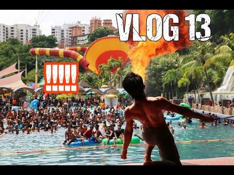 من أروع ما ستشاهد في حياتك  !!!  Welcome To Sunway Lagoon Nabil Mazzar Vlogs 13