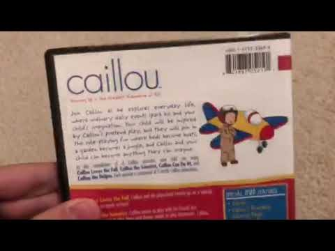 Caillou: Caillou's Playschool Adventures 2007 DVD