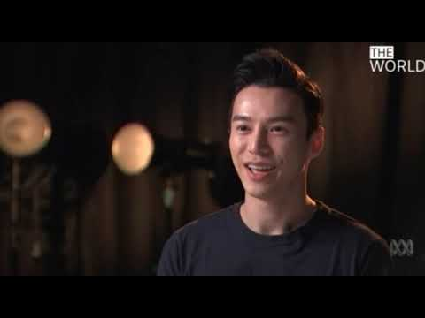The World ABC Australia News featuring Lawrence Wong 王冠逸