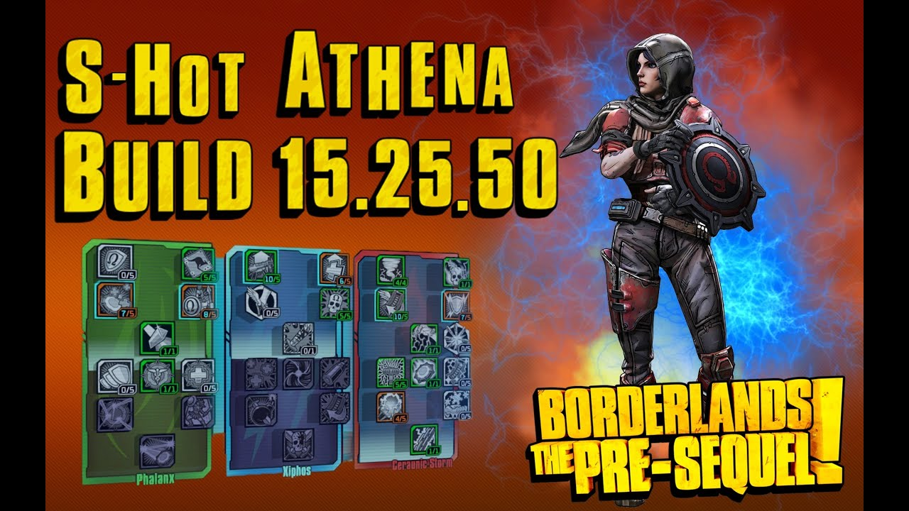 Borderlands  Athena Builds