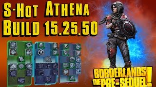 Download lagu Elemental Athena build 15 25 50 levelprogress Borderlands the pre sequel MP3