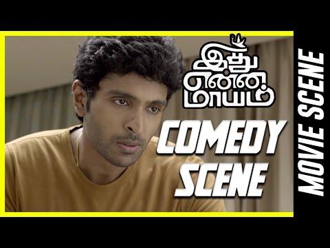 Idhu Enna Maayam - Comedy Scene | Vikram Prabhu |  Keerthy Suresh