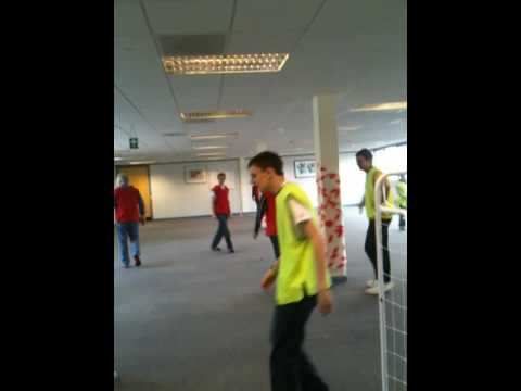 Getronics lunchtime office football