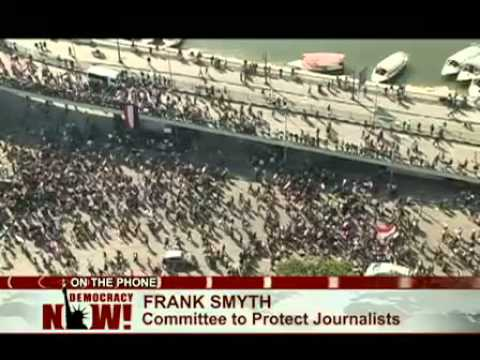 Video Report on the Battle for Tahrir by Democracy now.