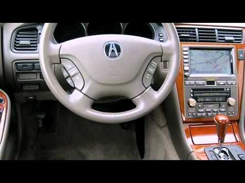 Acura RL WNavigation System YouTube - 2004 acura tl dashboard replacement
