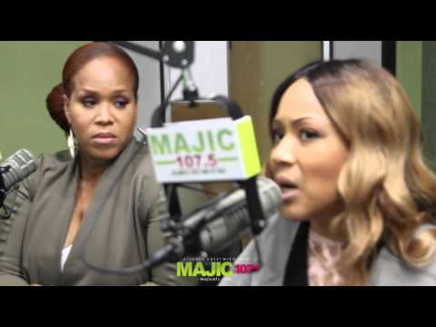 Mary Mary Interview on Majic 1075