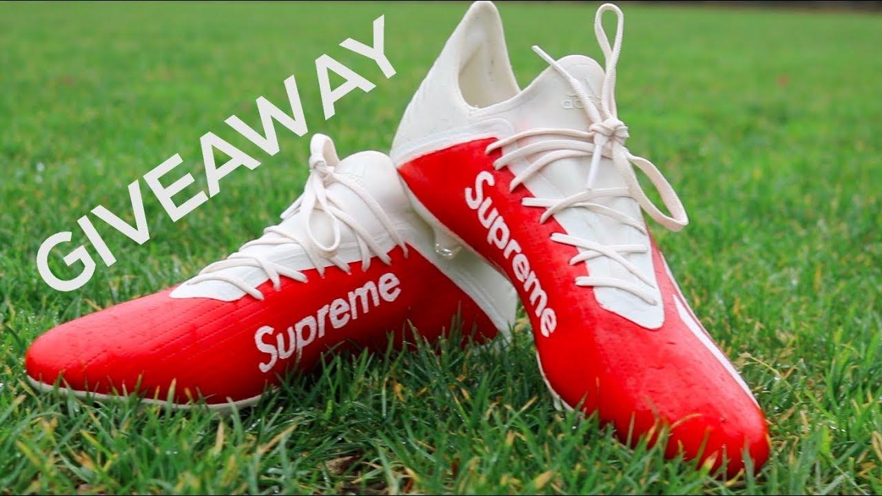 ADIDAS X SUPREME FOOTBALL BOOTS