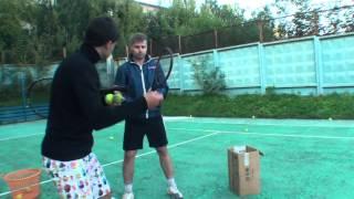 Теннис Учебное видео. Техника ударов Часть 4