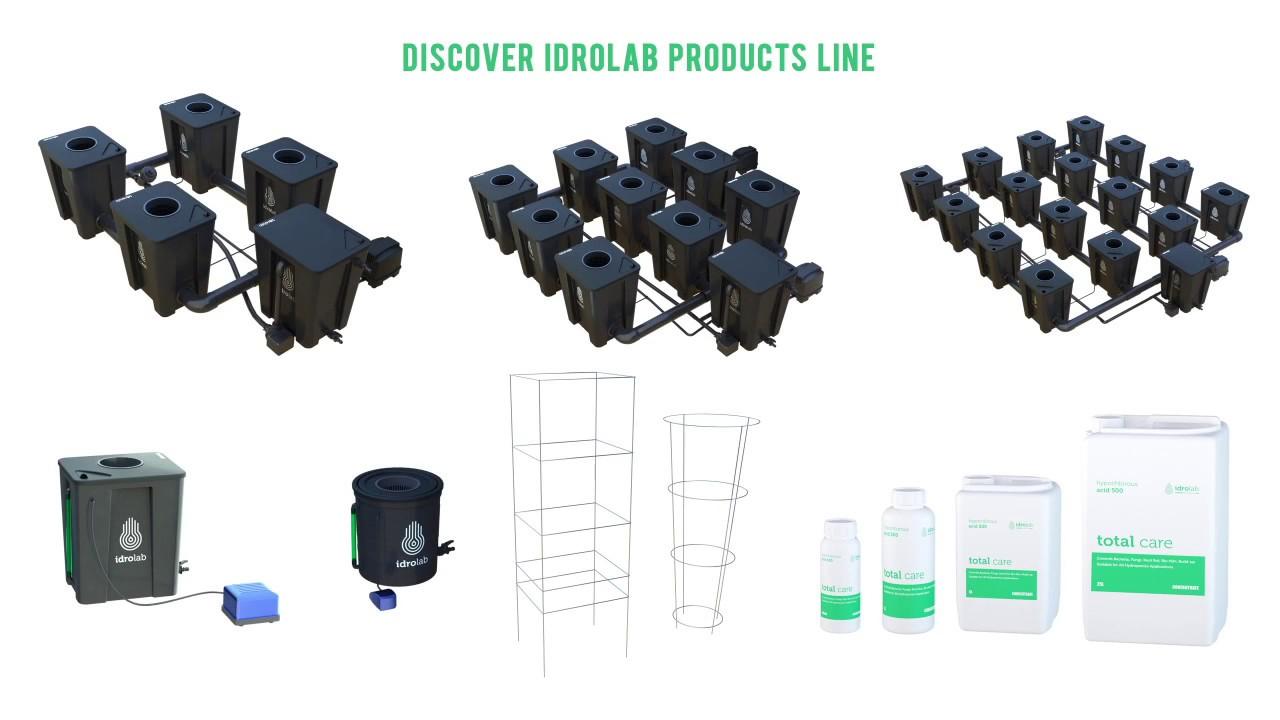 idrolab® Hydroponics RDWC Systems Intro