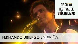 Fernando Ubiergo / 60 Momentos de Culto #VIÑA #FESTIVALDEVIÑA