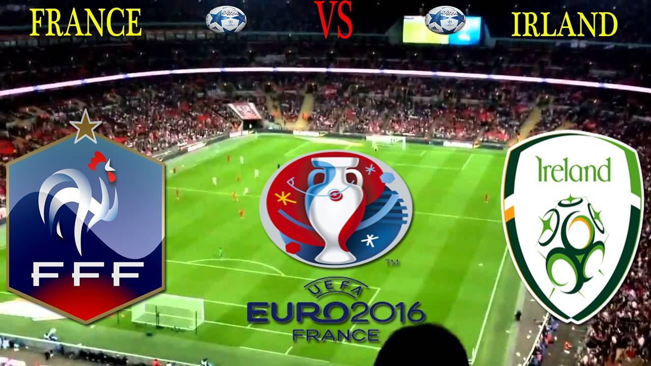 8 u00e8me de final de l u0026 39 euro 2016 r u00e9sum u00e9 france vs irlande