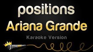 Ariana Grande - positions (Karaoke Version)