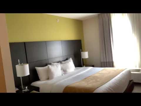 Comfort Suites Miami Airport North Room Tour For Super Bowl LIV 2020