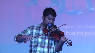 Fabulous Performance by Sandilya in the finale  | TGOT 2016 WINNER | Telangana Got Talent
