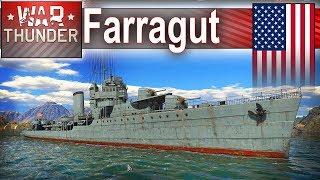 Farragut - jak się gra dużym okrętem w War Thunder?