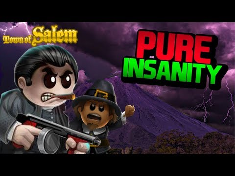 PURE INSANITY | Town of Salem Ranked Mafia Game