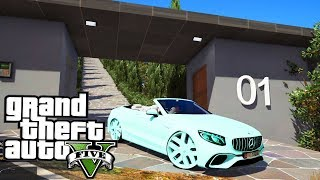 S63 AMG on 26s Delivery to Mansion! - GTA 5 Real Hood Life 2 - Day 111