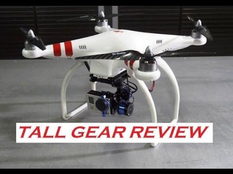 Dji Phantom Tall Gear Conversion Amp Review Youtube