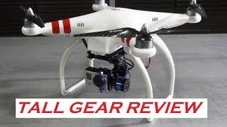 DJI Phantom Tall Gear Conversion & Review