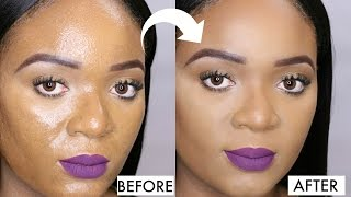 OILY SKIN FIX - HOW TO KEEP YOUR MAKEUP MATTE ALL DAY | OMABELLETV