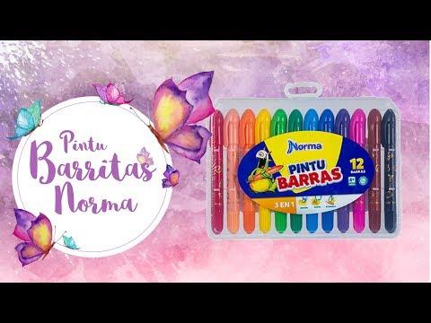 Reemplazando gelatos y distress Crayons: Pintu Barras Norma review / Dulce Manzana