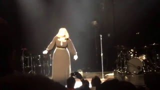 Adele - All I Ask, Live Concert from The Wiltern Feb 12, 2016 in Los Angeles