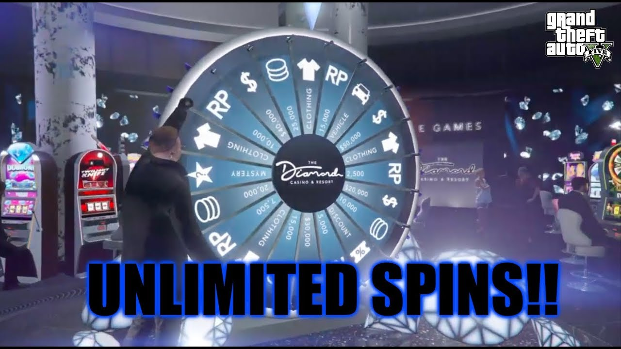 GTA 5 - How to Spin the Lucky Wheel as Many Times as You Want!!! (Unlimited Spins!!)