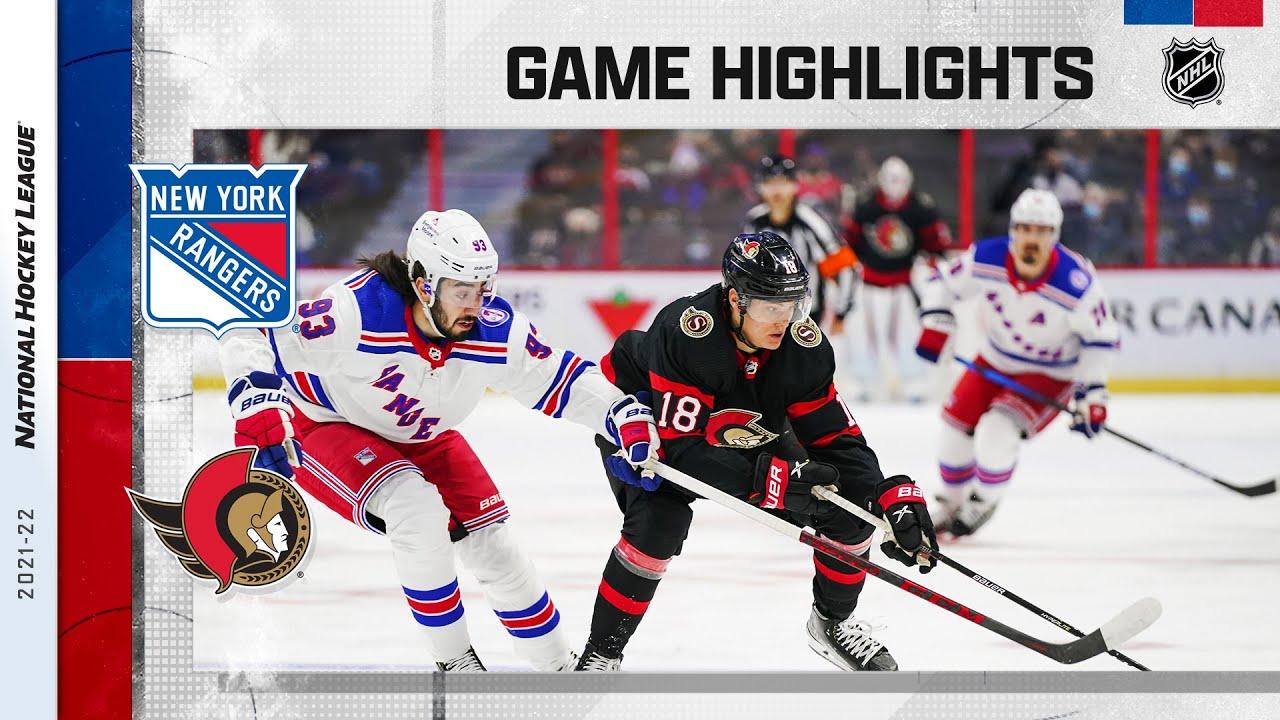 Download Rangers @ Senators 10/23/2021 | NHL Highlights