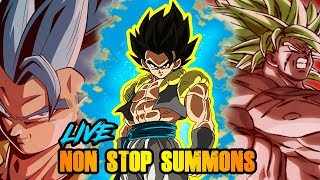 NON STOP LR DOKKAN SUMMONS FOR THE NEW YEAR!! GOING ALL OUT! | DRAGON BALL Z DOKKAN BATTLE