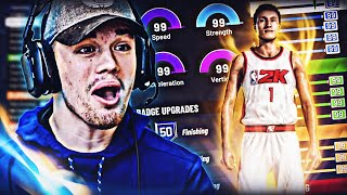 I FOUND THE BEST DRIBBLE G0D BUILD IN NBA 2K20! BEST PLAYSHARP POINT GUARD BUILD IN NBA 2K20!