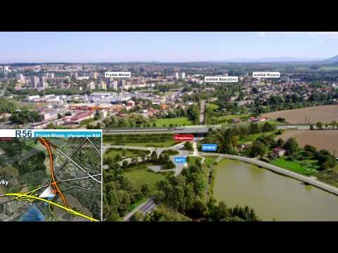 ŘSD ČR - Rychlostní silnice R48 a R56 Frýdek-Místek, obchvat a připojení na R48