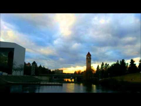 Downtown Spokane Time Lapse