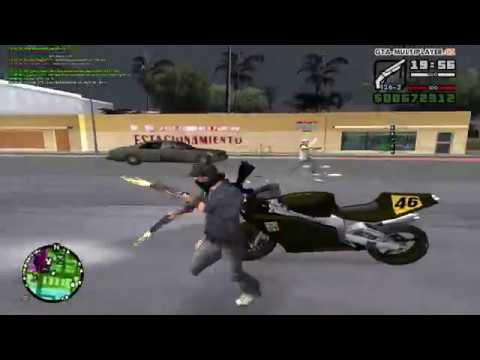 GTA San Andreas Multiplayer WTLS Sawn-Off Mini Montage
