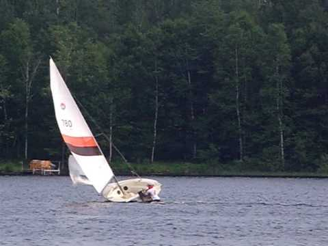 Problem on my Mistral 16 centerboard sailboat by matd01