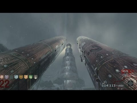 """MOD OF THE DEAD """"Call of Duty Zombies"""" Full Beta Gameplay BO1 Mod"""