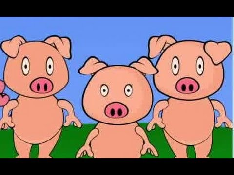 The Three Little Pigs | Animated Fairy Tale & Bedtime Storybook For Kids