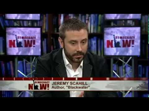 """""""There Is A War On Journalism"""": Jeremy Scahill on NSA Leaks & New Investigative Reporting Venture"""