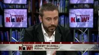 """There Is A War On Journalism"": Jeremy Scahill on NSA Leaks & New Investigative Reporting Venture"