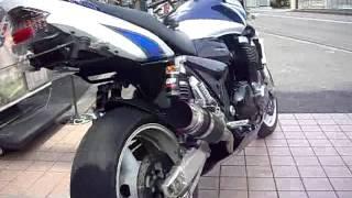 GSX1400  VS CB1300SF Suzuki HONDA