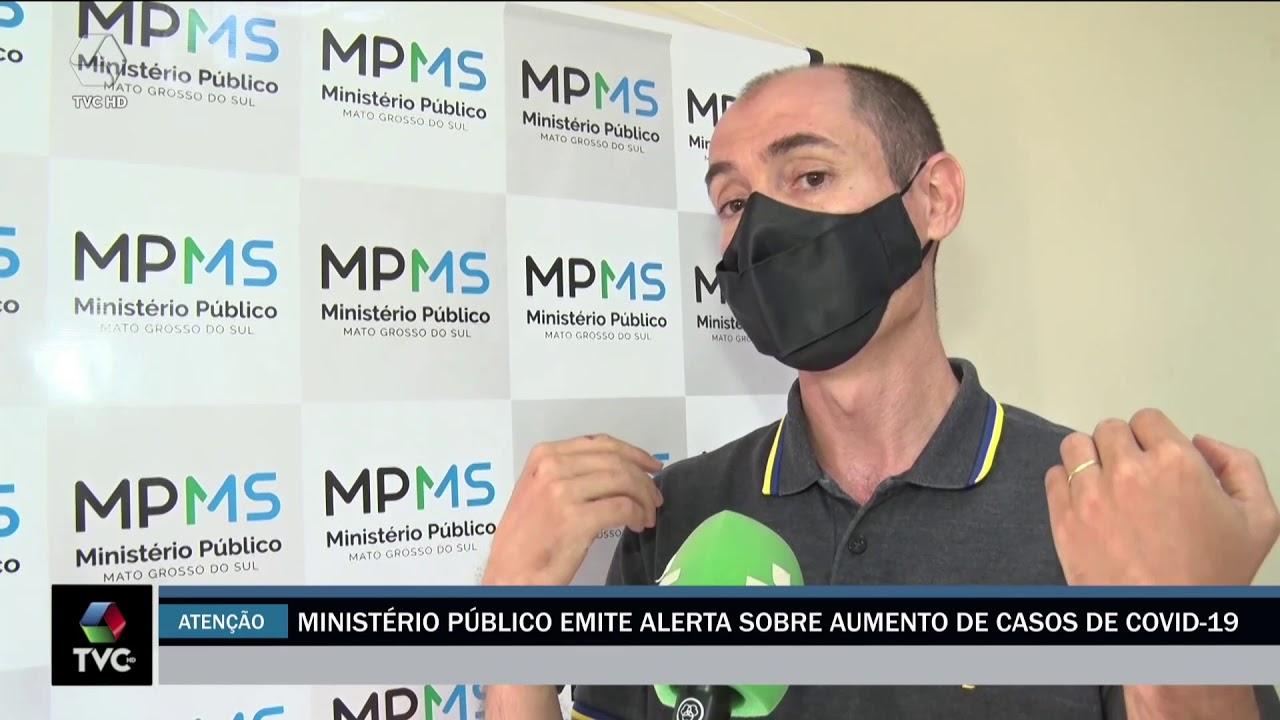 MP faz alerta sobre aumento de casos de Covid-19 e analisa medidas para conter a doença
